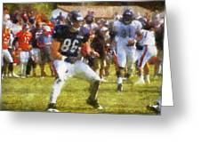 Chicago Bears Te Zach Miller Training Camp 2014 Pa 02 Greeting Card