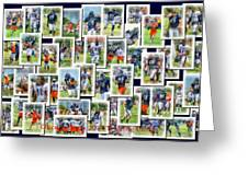Chicago Bears Training Camp 2014 Collage Pa 01 Greeting Card