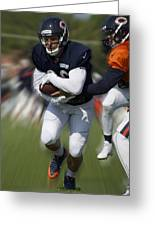 Chicago Bears Training Camp 2014 Moving The Ball 05 Greeting Card