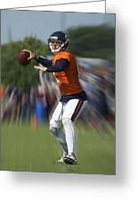 Chicago Bears Training Camp 2014 Moving The Ball 06 Greeting Card