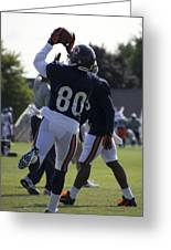 Chicago Bears Wr Armanti Edwards Training Camp 2014 04 Greeting Card