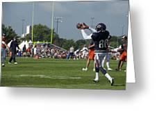 Chicago Bears Wr Armanti Edwards Training Camp 2014 08 Greeting Card