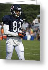 Chicago Bears Wr Chris Williams Training Camp 2014 05 Greeting Card