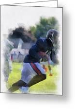 Chicago Bears Wr Micheal Spurlock Training Camp 2014 04 Pa 01 Greeting Card