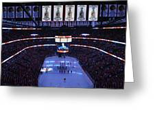 Chicago Blackhawks Please Stand Up Greeting Card