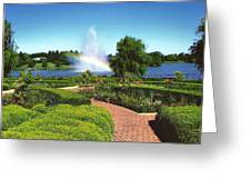 Chicago Botanic Garden Greeting Card