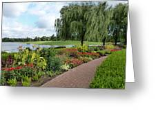 Chicago Botanical Gardens - 96 Greeting Card by Ely Arsha