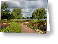 Chicago Botanical Gardens - 97 Greeting Card by Ely Arsha
