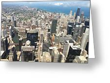 Chicago Buildings Greeting Card