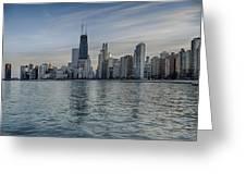Chicago Coast Greeting Card by Donald Schwartz