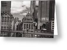 Chicago Crosswalk  Greeting Card