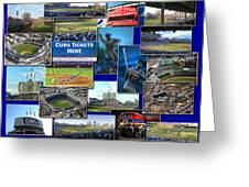 Chicago Cubs Collage Greeting Card