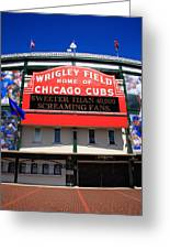 Chicago Cubs - Wrigley Field Greeting Card