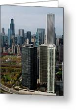 Chicago Harbor Point Greeting Card