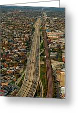 Chicago Highways 01 Greeting Card