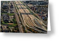 Chicago Highways 02 Greeting Card
