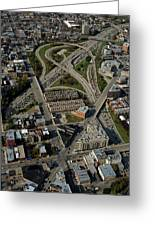 Chicago Highways 04 Greeting Card