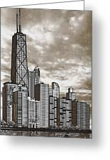 Chicago Illinois No Text Greeting Card