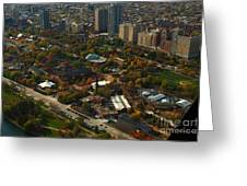 Chicago Lincoln Park Zoo Greeting Card