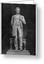 Chicago Lincoln Statue Greeting Card