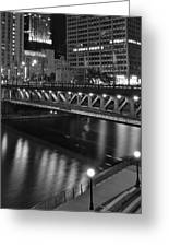 Chicago Nights Greeting Card