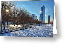 Chicago Park Greeting Card