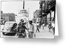 Chicago Protest, 1941 Greeting Card