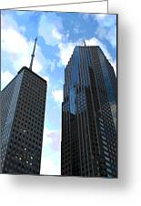 Chicago - Prudential Building Greeting Card