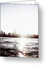 Chicago Skyline II Greeting Card
