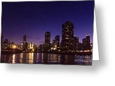 Chicago Skyline Vi Greeting Card