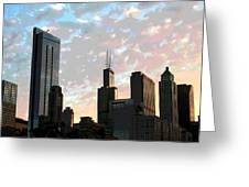 Chicago - South Loop Greeting Card