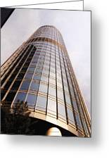 Chicago Sunrays On Trump Tower Greeting Card