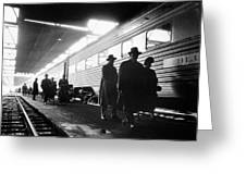 Chicago Train Station Greeting Card