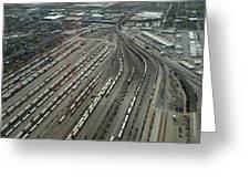 Chicago Transportation 02 Greeting Card