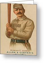 Chicago White Stockings 1887 Greeting Card