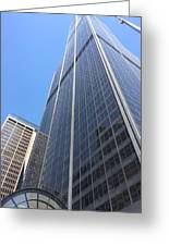 Chicago Willis Tower Greeting Card
