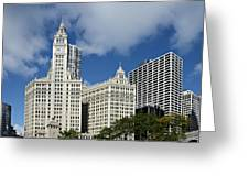 Chicago - Wrigley Building Greeting Card