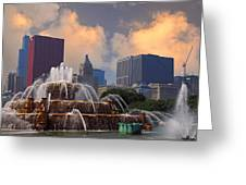 Chicago...my Kind Of Town Greeting Card