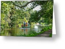 Chichester Canal Greeting Card
