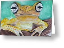 Chichia Tree Frog Greeting Card