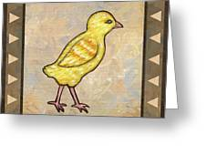 Chick One Greeting Card