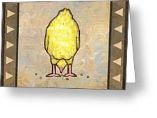 Chick Six Greeting Card