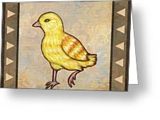 Chick Two Greeting Card