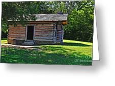 Chickamauga Cabin Greeting Card