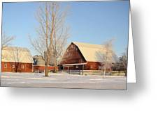 Chickasaw Farm Greeting Card