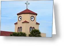 Chicken Church Greeting Card
