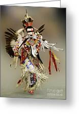 Pow Wow Dreamtime 1 Greeting Card