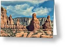 Chicken Point Sedona Arizona Greeting Card