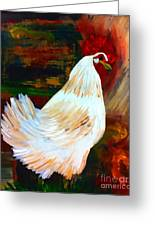 Chicken--yard Bird Impression Greeting Card