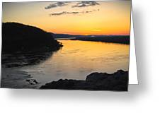 Chickies Rock Sunset 9 Greeting Card